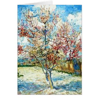 All Occasion Van Gogh Peach Blossoms Card