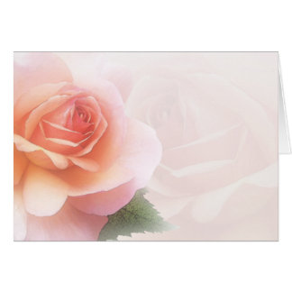 All-Occasion Watercolor Rose Greeting Card