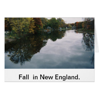 All occassion card: New England in Fall Greeting Card