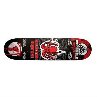 All Octopi Must Die! Skate Board