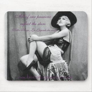 All of our passions reflect the stars mousepad