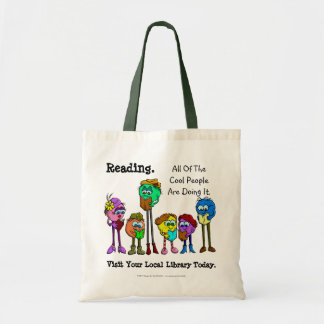 All Of The Cool People Read Budget Tote Bag
