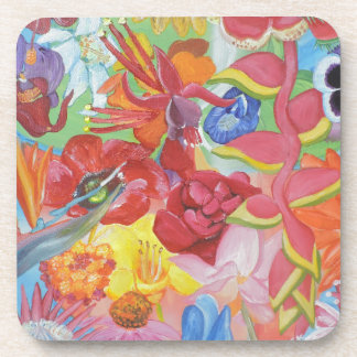 All of the Flowers Beverage Coasters