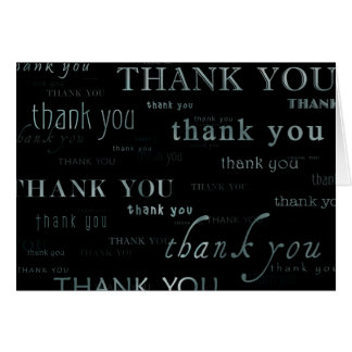 all of the thank yous card