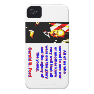 All Of Us Who Served - Gerald Ford iPhone 4 Case-Mate Cases