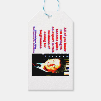 All Of You Know - Bill Clinton Gift Tags