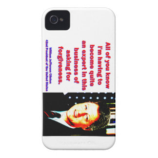 All Of You Know - Bill Clinton iPhone 4 Cases