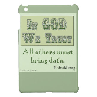 All Others Must Bring Data iPad Mini Cover