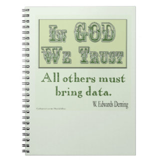 All Others Must Bring Data Notebook