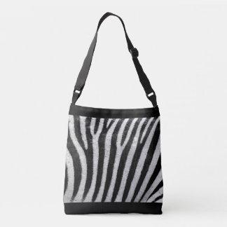 All-Over Cross Over Body Zebra Print bag
