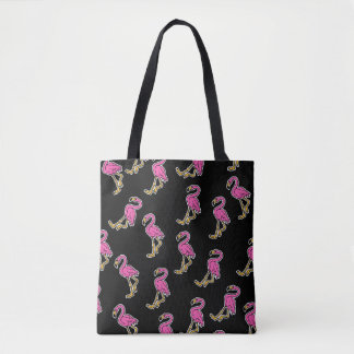 All over Flamingo bag