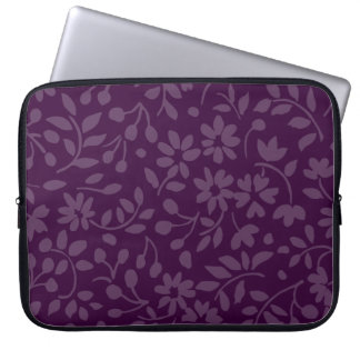 All Over Floral Any Color Laptop Computer Sleeves