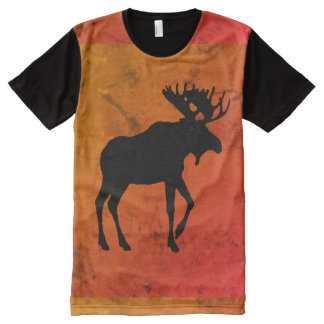 All-Over Moose Shirt