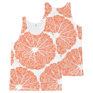 All-Over Print Shirts - Grapefruit to Suit