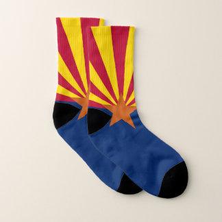 All Over Print Socks with Flag of Arizona State