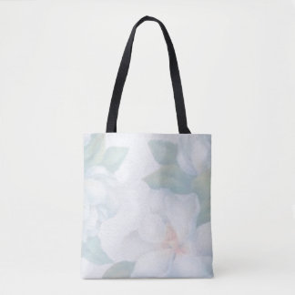 All Over Print Tote bag in Water Color Roses