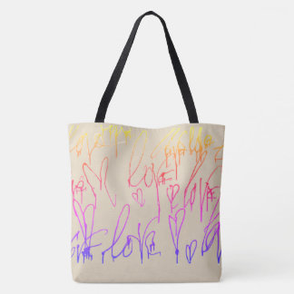 All-Over-Print Tote Bag, Large