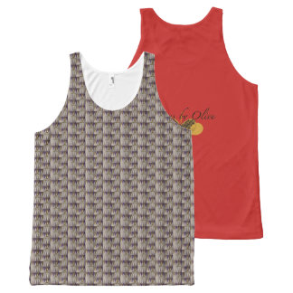 All-over Printed Tank Top