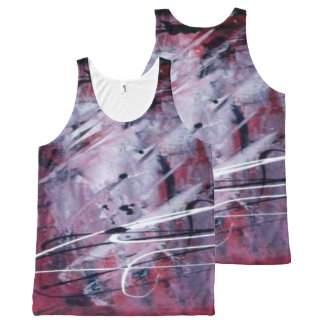 All-Over Printed Unisex Mix Color Tank