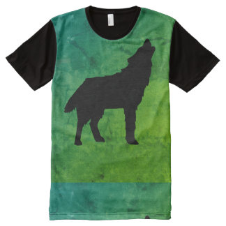 All-Over Wolf Shirt