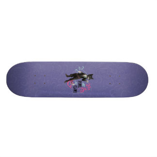 All Paws No Claws (color) 21.6 Cm Skateboard Deck