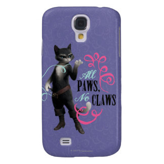 All Paws No Claws (color) Galaxy S4 Covers