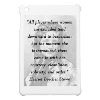 All Places - Harriet Beecher Stowe iPad Mini Cover