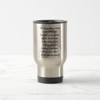 All Places - Harriet Beecher Stowe Travel Mug
