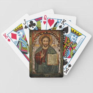 All Powerful Christ - Chrystus Pantokrator Bicycle Playing Cards