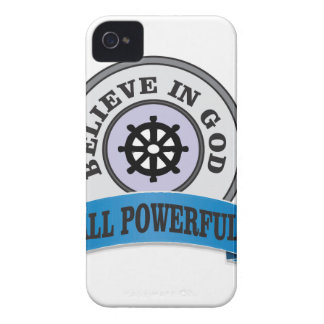 all powerful god logo iPhone 4 case