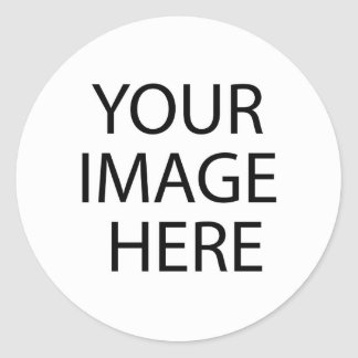 All Products - Create Your Own Image Classic Round Sticker