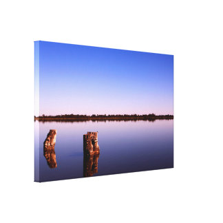 All Quiet on the Lake Canvas Print