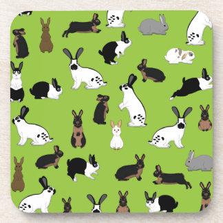 All rabbits coaster