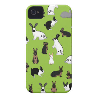 All rabbits iPhone 4 Case-Mate case