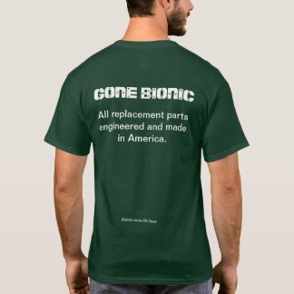 """All replacement parts engineered...  In America"" T-Shirt"