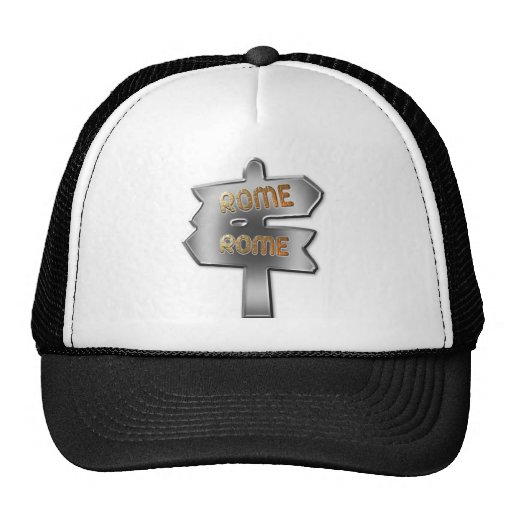 ALL ROADS LEAD TO ROME MESH HATS