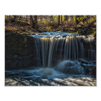 All Saints Falls, Olmstead Falls, Ohio Poster