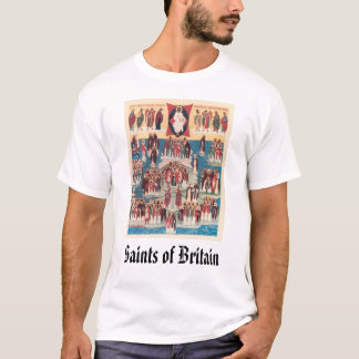 All Saints of Britain, Saints of Britain T-Shirt