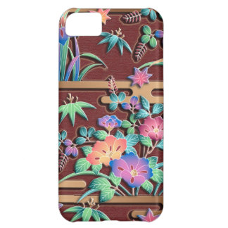 All seasons flowers colorful japanese pattern iPhone 5C covers