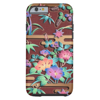 All seasons flowers tough iPhone 6 case