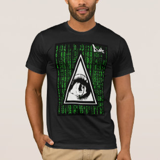 ALL SEEING EYE CODE T SHIRT BY DMT