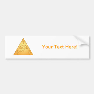 All Seeing Eye / Eye of Horus: Bumper Sticker