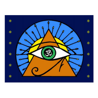 All Seeing Eye Postcard