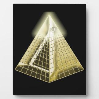 All Seeing Eye Pyramid 1 Display Plaques