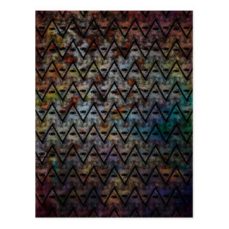 All Seeing Pattern Postcard
