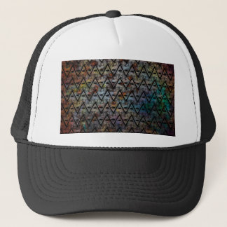 All Seeing Pattern Trucker Hat