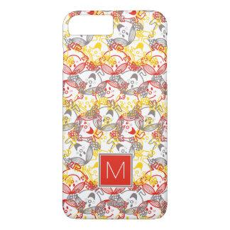 All Smiles Pattern   Monogram iPhone 8 Plus/7 Plus Case