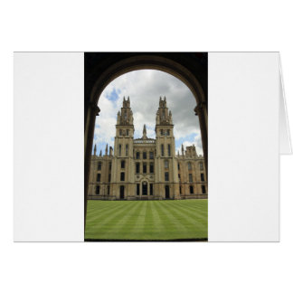 All Souls College, Oxford Card