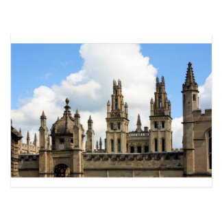 All Souls College Oxford Postcard