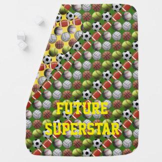 All Sport Future Superstar Baby Blanket